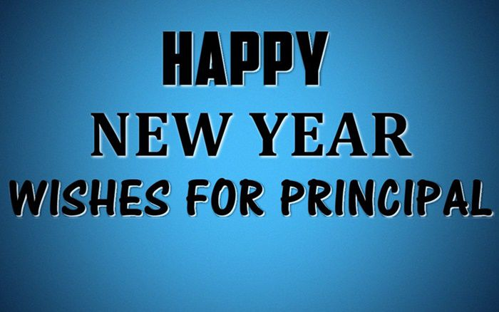 best happy new year wishes for principal