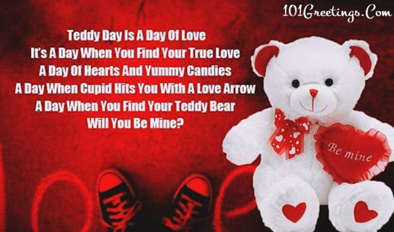 [60+ BEST] Cute Teddy Day Quotes Wishes For Boyfriend