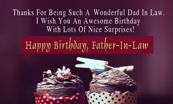 Happy Birthday Father In Law Funny Wishes