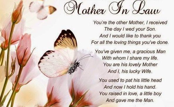 Happy Mothers Day Quotes for Mother in Law from {Daughter ...