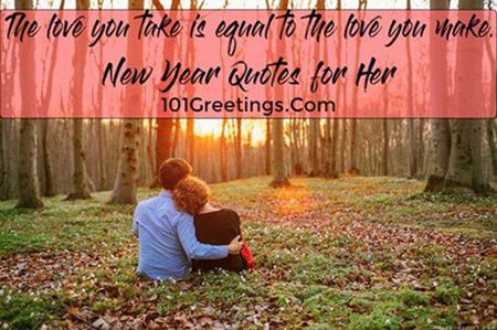 romantic happy new year quotes for her