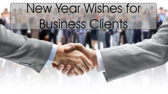 best new year wishes for business clients partner and customers