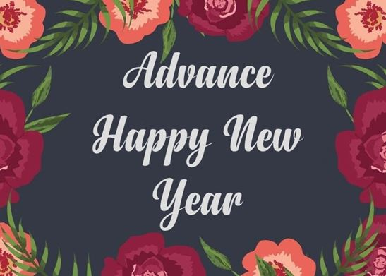 advance new year wishes